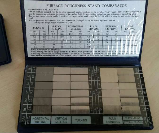 Rugotest / Surface Roughness Comparator 0