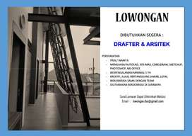 DIBUTUHKAN DRAFTER / ARSITEK