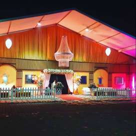 Marquee rental services (portable weatherproof)