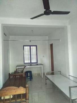 (Bachiler 2 person) Semi furnished single room bath attached