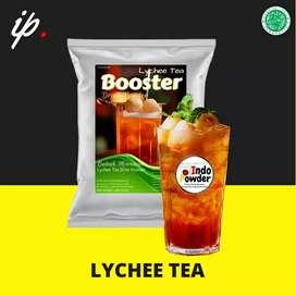 bubuk minuman rasa leci lychee lemond lemon tea indopowder booster