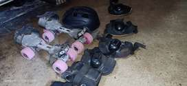 Kids skates very good condition for (8-14) kids