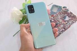 Samsung A71 8/128gb prism green