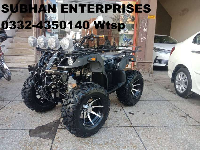 Full Monster Atv Quad 4 Wheels Bike Online Deliver In All Pakistan 0