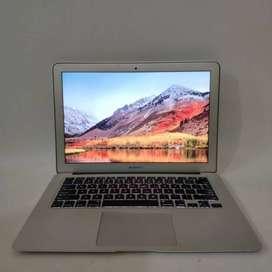 Laptop Slim MacBook air 13 RAM 2GB SSD 256 GB Bekas Second