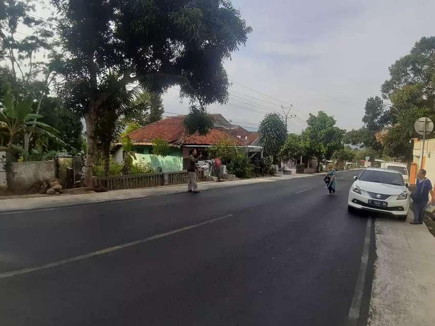 Tanah pinggir jalan bangun rumah