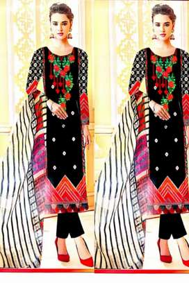 Lawn 3 pic suit for woman