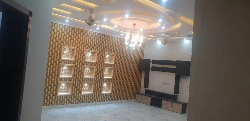 Bahria town Phase 8, 10 m brand new house designer house investor rate 0