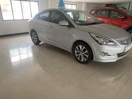 Hyundai Fluidic Verna 1.6 VTVT SX, 2017, Petrol