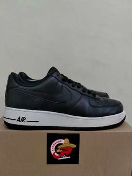 Nike Air Force 1 Low Black White Leather