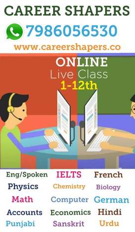 Online & Home Tuition 1-12th. All Subjects Available,Free demo class