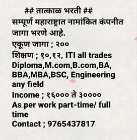 Sales executive,Back Office,Area manager,HR department