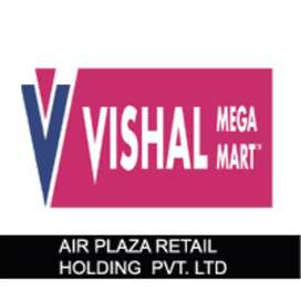 Supervisor and sales girl's storekeeper vacancy in shopping mall