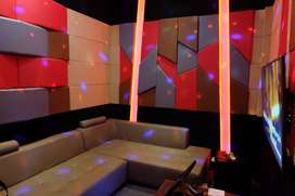 Peredam suara ruangan akustik ruang studio dan entertainment room PRO