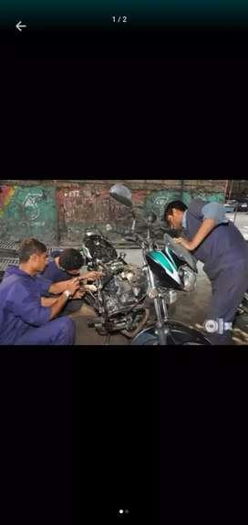 Wanted two wheeler mechanics