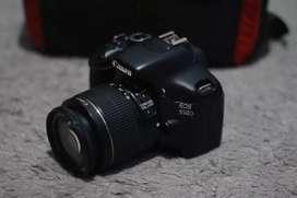 Canon 550D + Lensa Kit 18-55mm is II Normal