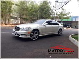 Mercedes Benz S350 AMG CGI 2012 Elegant White Best