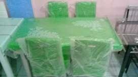 Ptomo harga meja makan K 58 importa 4 kursi hijau
