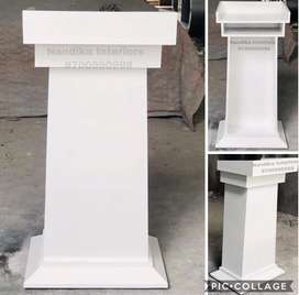 Latest designed podiums valet parking tables office tables
