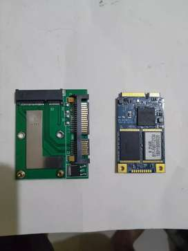 SSD msata 256gb with Converter for sale,LG led monitor