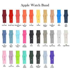 For Apple Watch Series 4 3 2 1 38mm/42mm/40mm/44mm Version Soft Silico