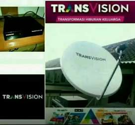 Promo diskon murah Transvision HD Manado Spesial setahun hanya Rp750k