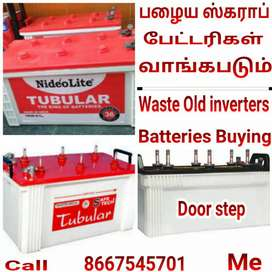 Waste +Scrap condition OlD inverters Batteries Buying