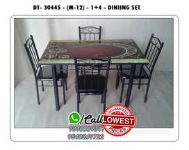 Great Wooden / Glass Dining Table and Dining set 4 / 6 Chairs Seater