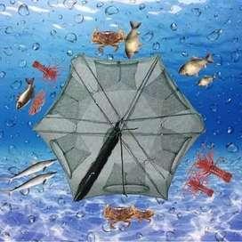 Jaring Perangkap ikan udang belut model payung lubang 6