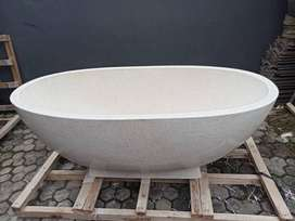 Bathtub Bali Handmade Terrazzo Tipe Oval P150cm