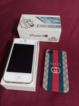 Iphone 4S ,16GB free casing gucci