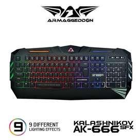 Keyboard Gaming RGB Armagedon AK-666 SFX