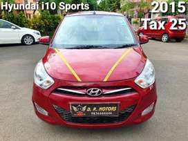 Hyundai I10 Sportz 1.2, 2015, Petrol