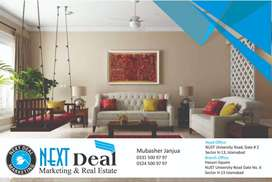 5 Marla House Ground Floor 2 Beds For Family Sector H 13 Islamabad