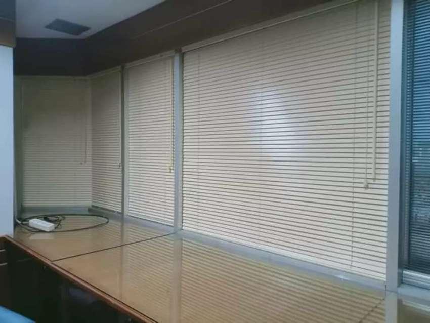 Gordeng horizontal blind sangat cocok untuk rumah anda