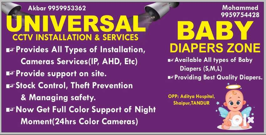 CCTV Installation services.