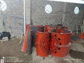Cetakan buis beton ukuran 80*50cm