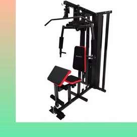 home gym multi gym 1 sisi ID-807 F-98 alat beban fitnes