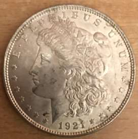 USA Antique Coin (1921)