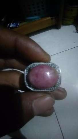 Batu ruby natural