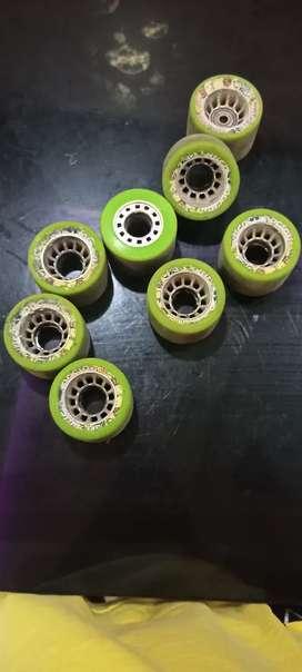 Skating speed wheels
