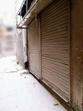 Corner Renovated Shop with 2 Shutters Near Raja Bazar For Sale