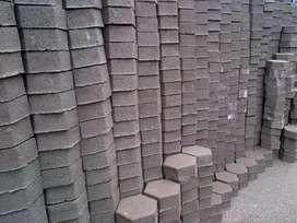 Paving Block Berkualitas sedia Uditch Gressblock Buis Konblok 1gs12val