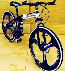 Folding cycle makwheel model 21 shimano gears