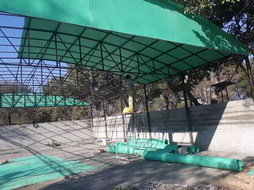 fiber glass shed and canopies