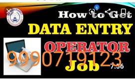 Data Entry Job/Home Based Online/Offline Work .call me or missed call
