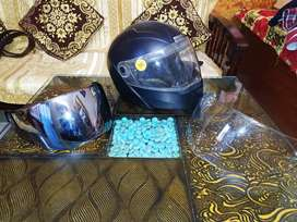 Studds Ninja Elite Helmet's Visor mirror visor and transparent