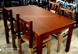 Wooden dining table offers available