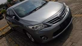 Toyota Altis facelift 2010 AT silver (nego)