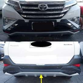 Front Rear Bumper Guard Skidplate Add On bodykit RUSH TERIOS 2018